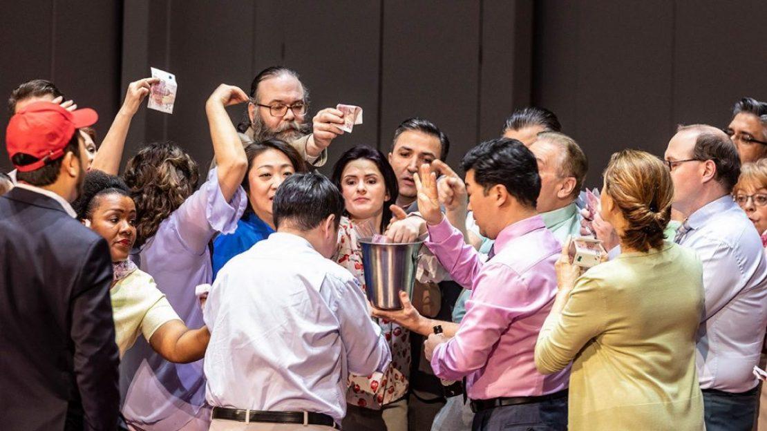 Szene aus Così fan tutte © Fotograf: Ludwig Olah